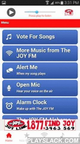 The JOY FM Alabama  Android App - playslack.com ,  Helping you find JOY wherever you are. Home is just a click away.