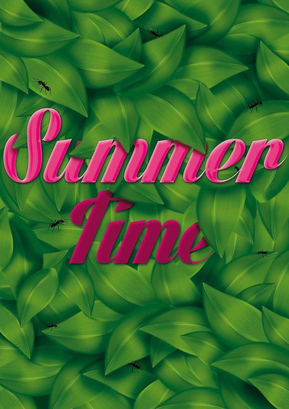 Summer Time on Behance