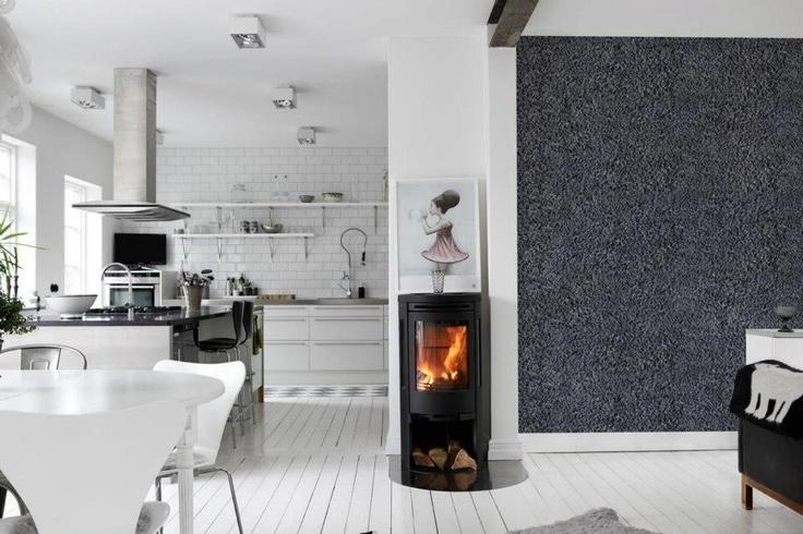 Ull fra saueskinn blir stilig og dekorativt på veggen. Fra Mr. Perswall som føres av Borge.