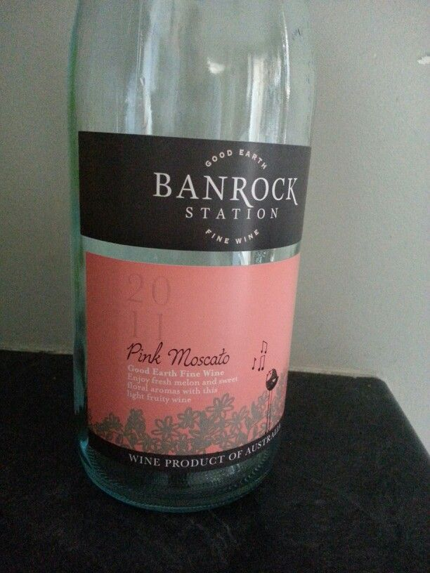 Banrock station - pink moscato