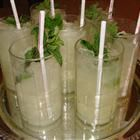 Mint Julep: Mint simple syrup and lemonade