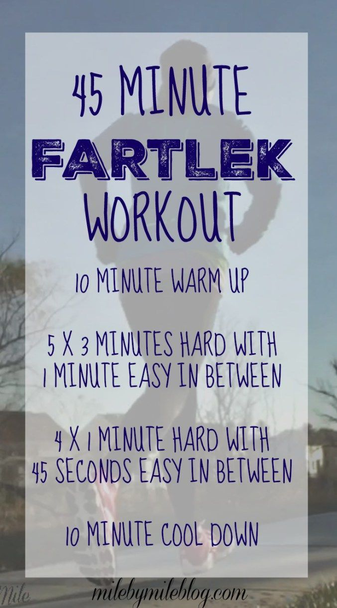A time based fartlek run to help you get used to running faster paces! #running #training #workout