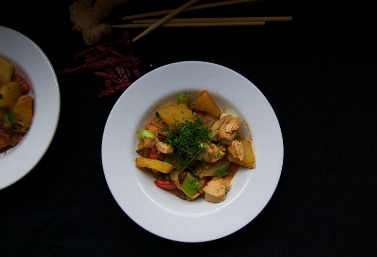 Thai style Potatoes