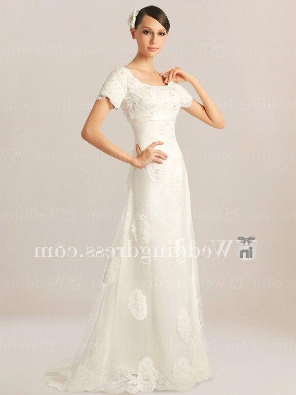 Modest Vintage Wedding Dress UK DE259 | InWeddingDress