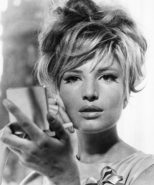 Monica Vitti photographed by Everett in 1966