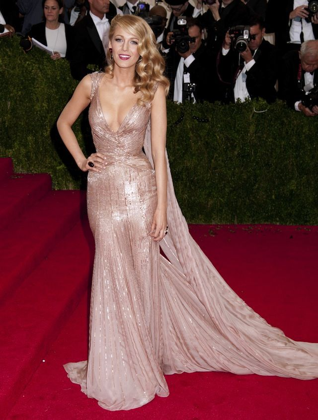 Blake Lively in Gucci Première at the Met Gala 2014 - Coco's Tea Party