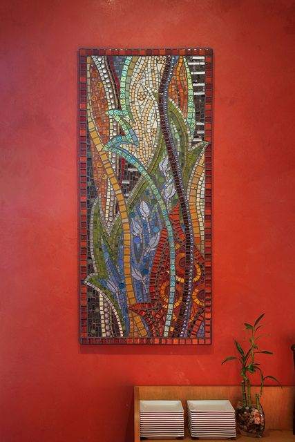 abstract mosaic by thenatureofmosaica.com