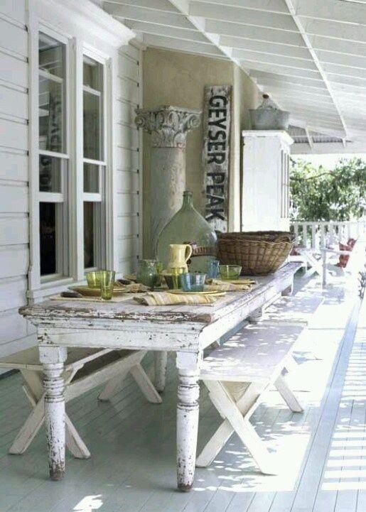 White vintage | porches