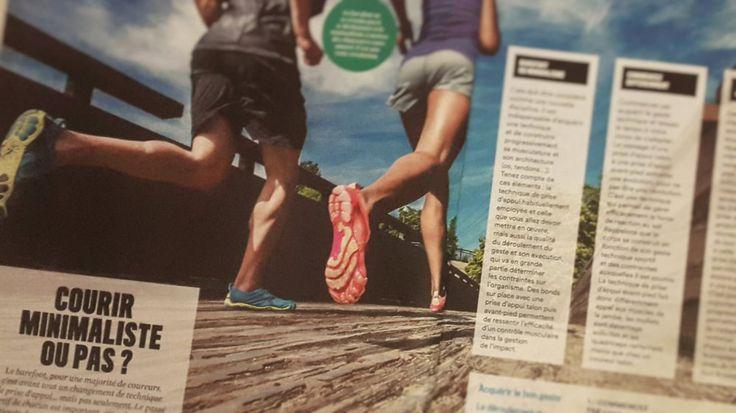 A lire ''Courir minimaliste ou pas ?'' Par Fred Brigaud / HS Runner's World n°56  Le barefoot ne se résume pas à se déchausser et le minimalisme à changer de chaussures avant de partir courir. Cela nécessite avant tout, pour la majorité des coureurs, un changement de technique de prise d'appui mais, comme nous le verrons, pas seulement.