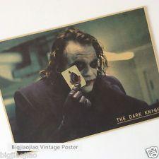 The Dark Knight The Joker Movie Poster Kraft Paper Poster Bar Room Decorate