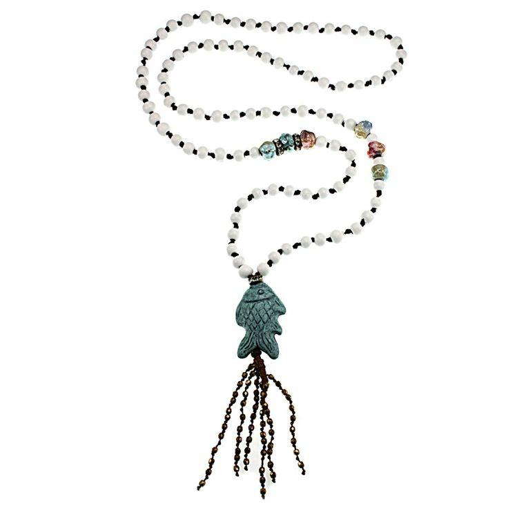 Summer boho necklace!
