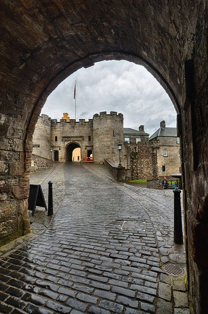 Stirling Castle, Stirling, Scotland.