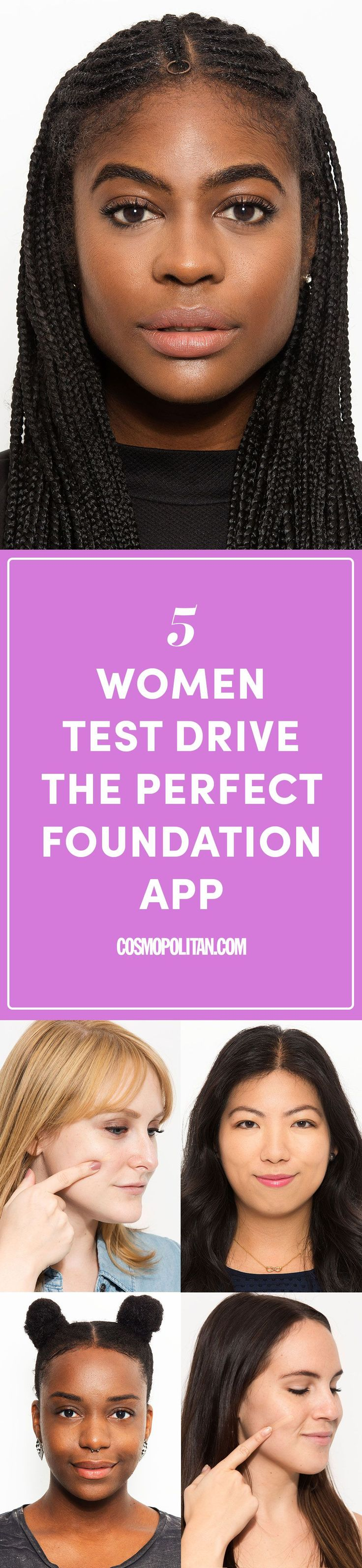 5 Women Tried This App to Find the Perfect Foundation Match and Here's What the Shades Look Like On - Cosmopolitan.com