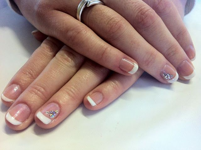 Shellac Manicure Designs | DownloadBrush And Polish Cnd Shellac Nail Art  French More