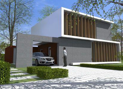De moderne stijl wordt steeds populairder deze for Huizen moderne stijl