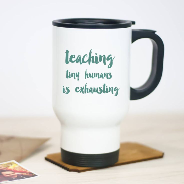 Teachers Travel Mug – Little Pieces