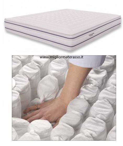 Miglior Materasso In Memory Foam.Dotti 800 Molle Insacchettate E Memory Materasso A Molle