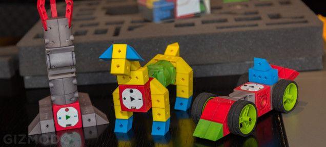 Een racewagen, een hond of een grijparm. Je bouwt het zelf met Tinkerbots. TinkerBots is een educatief speelgoed die het mogelijk maken voor...