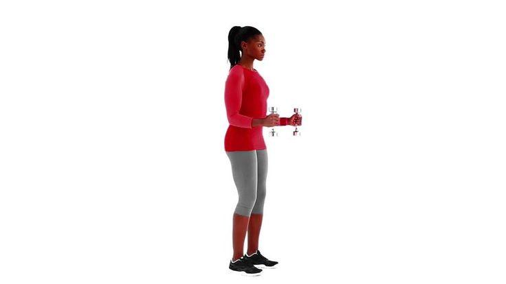 """Elevação em pé em posição de """"L"""" : Ombros, Abdominais - MSN Saúde e Bem-estar"""