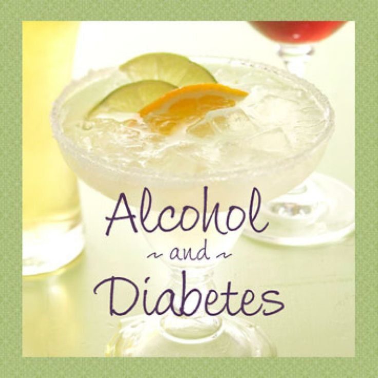 drinking with diabetes