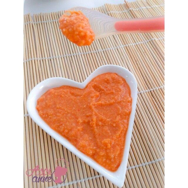 Kırmızı Humus (+9 ay)  Alışılmadık bir tat… Kırmızı humus… Bu tarifi yoğurtla birlikte yedirebilirsiniz, zira çok yakışıyor.  #corbalar  #bebekyemekleri #beslenme