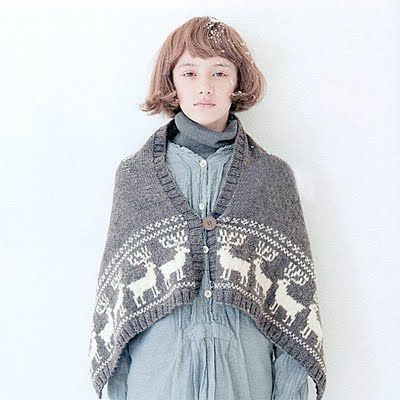 "The images are from a brand new Japanese knitting book, ""Small Nordic Knitting"", isbn 978-4391139518 and available on Amazon.jp. I love..."