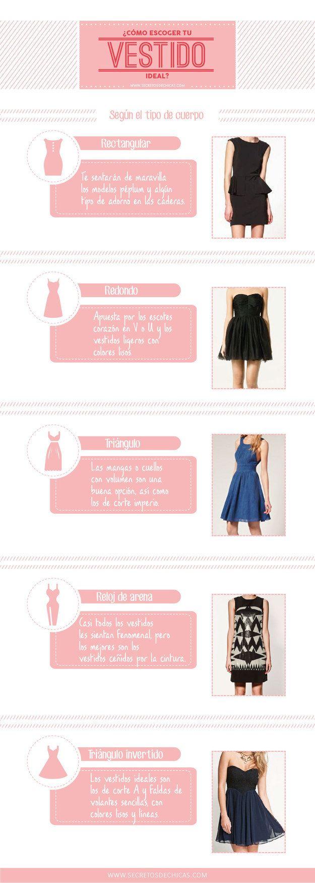 Todas podemos lucir un lindo vestido que enfatice nuestra figura.
