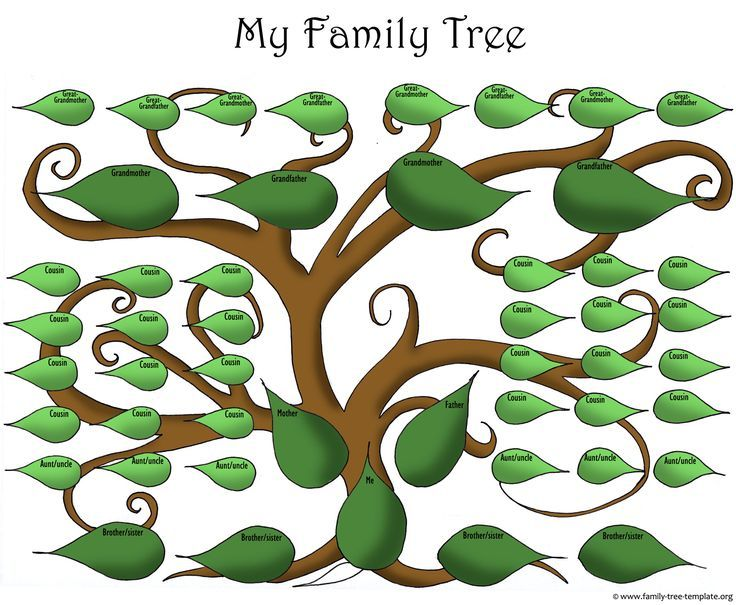 25 best Family Tree images on Pinterest 2 a, DIY and Children - blank family tree