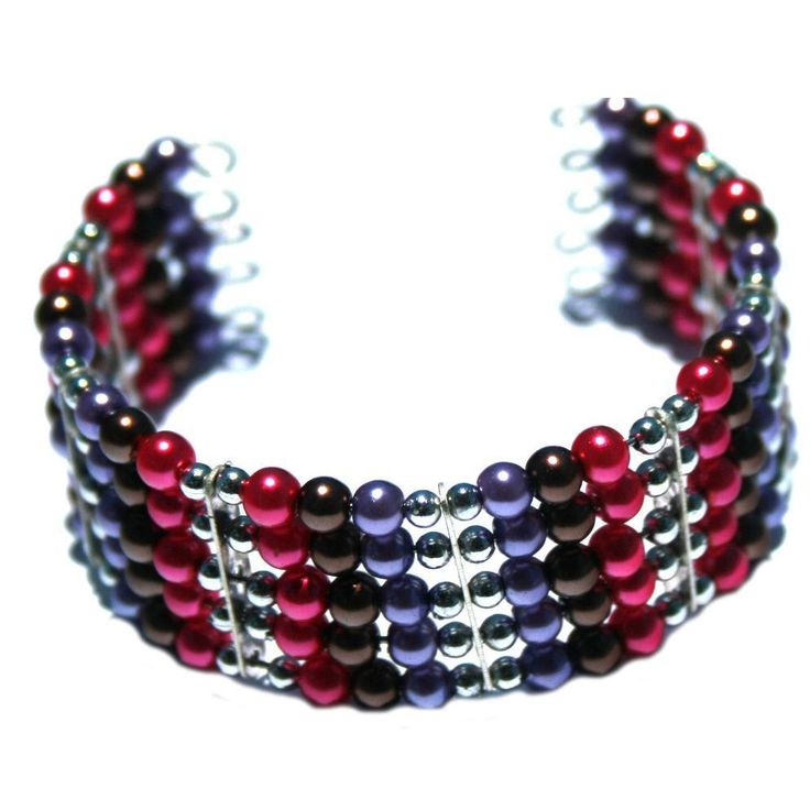 SOLD Five Track Memory Wire Bracelet by Dornan Designs - Perfect gift for a young girl.