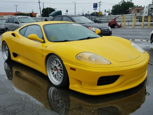 Salvage 2001 Ferrari 360 Modena Ferrari 360 Ferrari Salvage Cars