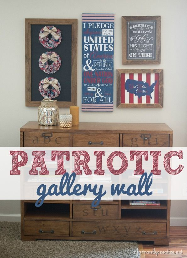Fourth Wall Art Gallery Lewiston : Th of july decorations my red white blue gallery
