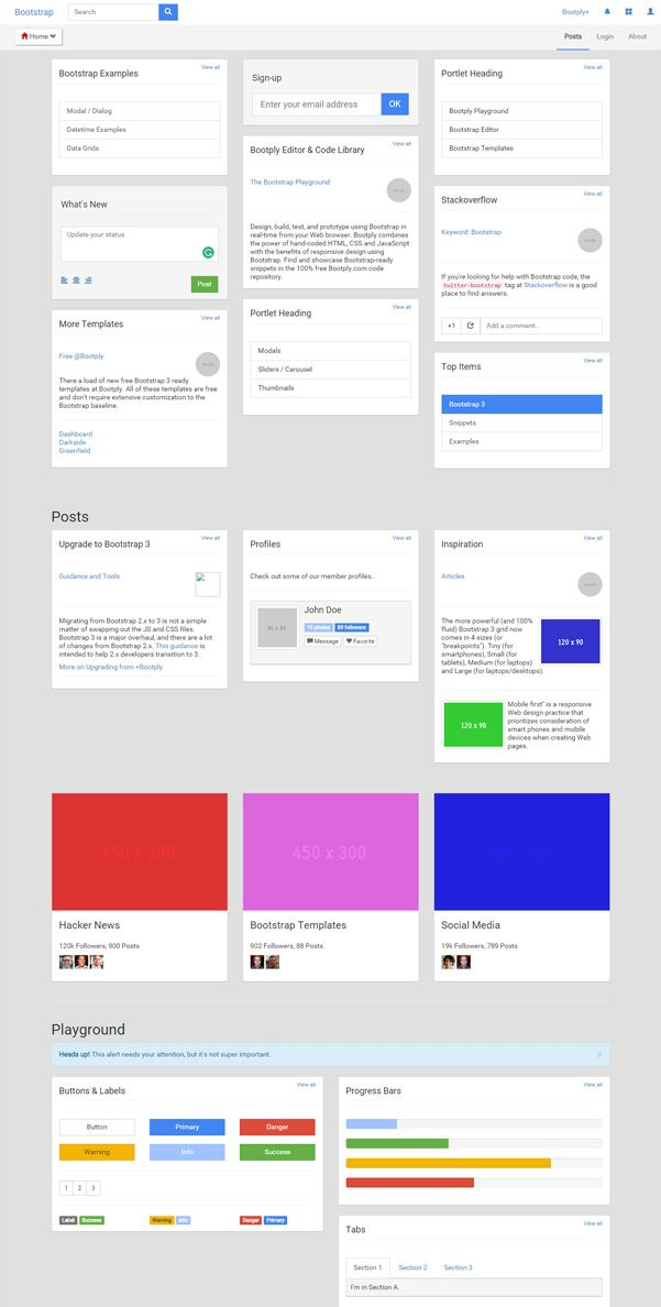 interactive website templates