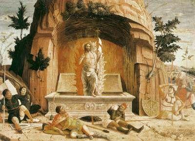 Resurrection,  1457-59, Mantegna