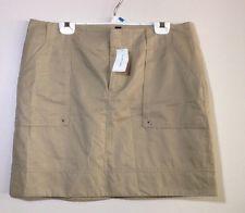 Banana Republic Beige TAN Khaki Skirt 14 | eBay