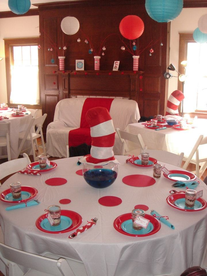 100 Best Cat In The Hat Party Ideas Images On Pinterest Birthdays 2nd Birthday And