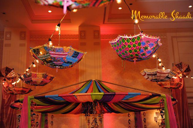Wedding Decor Theme : Village for indoor event