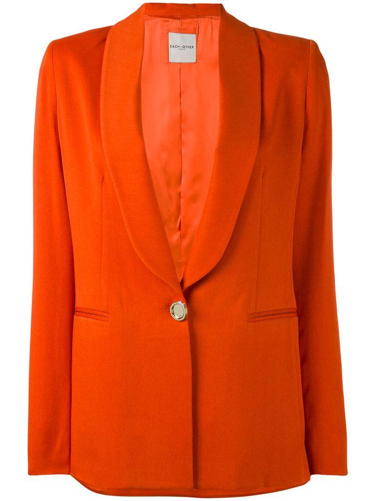 ¡Consigue este tipo de americana de EACH X OTHER ahora! Haz clic para ver los detalles. Envíos gratis a toda España. Each X Other Other - Tailored Blazer - Women - Acetate/Viscose - S: Orange tailored blazer from Each X Other. Size: S. Color: Yellow/orange. Gender: Female. Material: Acetate/Viscose. (americana, americana, blazer, americanas, blezer, frock-coat, jackett, blazers, veste de costume, americana, blazers)