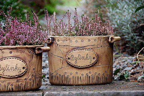 květináč na bylinky-velký-hnědý-ihned dostupný