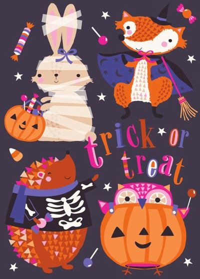 print & pattern: HALLOWEEN - victoria johnson