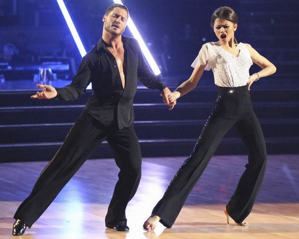 Val and Zendaya -Dancing With the Stars