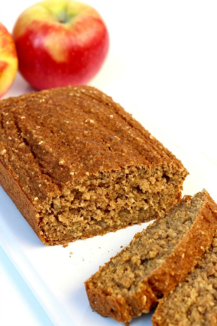 Apple bread made healthier without sacrificing flavor or texture. No flour needed, sweetened with honey, and loaded with fresh apples, it's quick to make and tastes so great! So many of you have fallen in love with my Healthy 5-Ingredient Flourless Banana Bread,Healthy Flourless Pumpkin Breadand 4-Ingredient Flourless Chocolate Chip Banana Bread recipes with several... #healthymeatloafrecipesoats