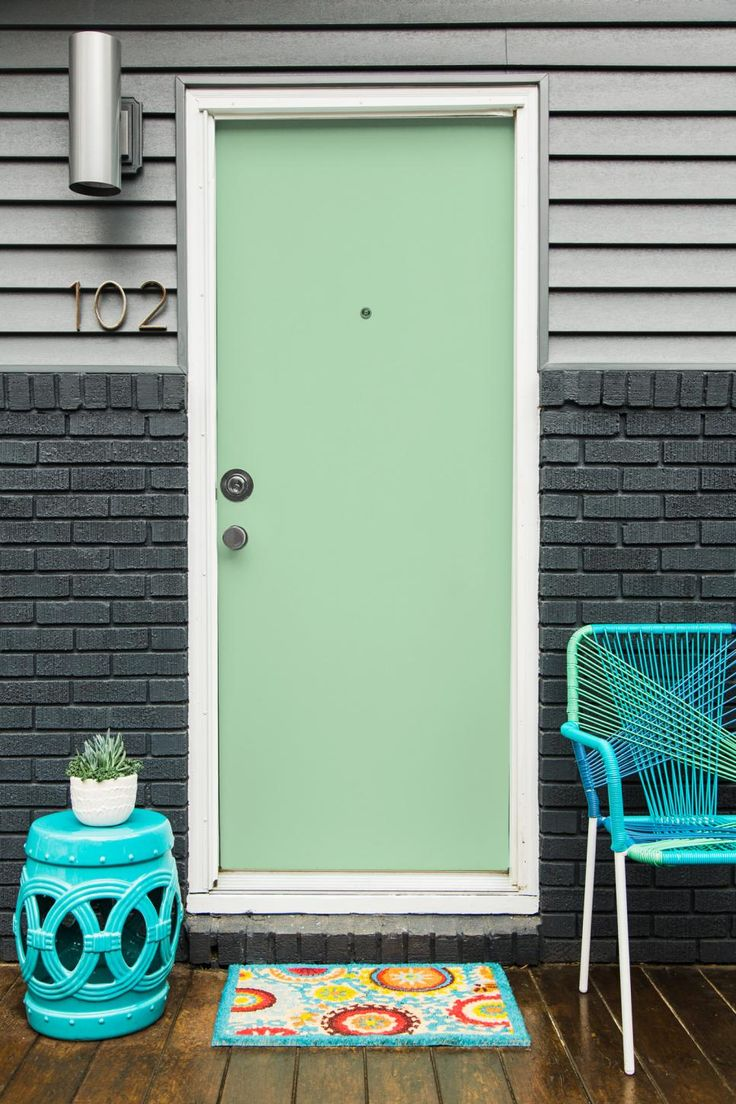 Front Door Paint Ideas 97 best foyers, porches + front doors images on pinterest | front