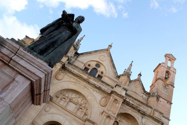 Colegiata de Santa María. Plaza de los Escribanos. #Antequera
