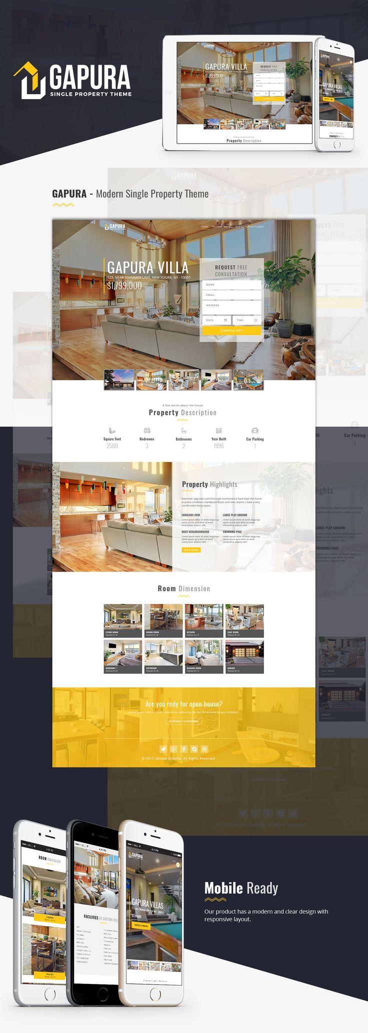 Gapura - Single Property Theme on Behance