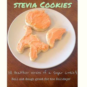 Sugar cookies stevia recipe