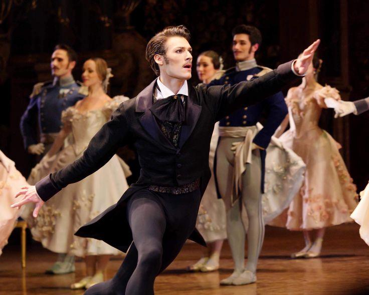 Hugo Marchand as Onegin. Paris Opera Ballet 2018