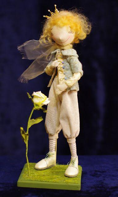 NKALE :-) В каждой игрушке сердце: Маленький Принц...