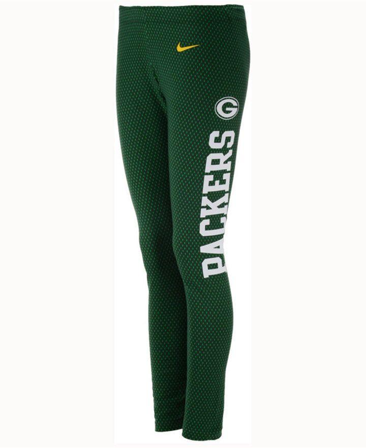 Nike Women's Green Bay Packers Tailgate Leggings