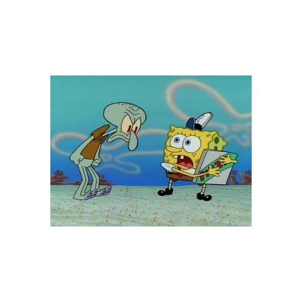 SpongeBob SquarePants 1x05 Pizza Delivery / Home Sweet Pineapple -... ❤ liked on Polyvore featuring home, home decor, spongebob and pineapple home decor