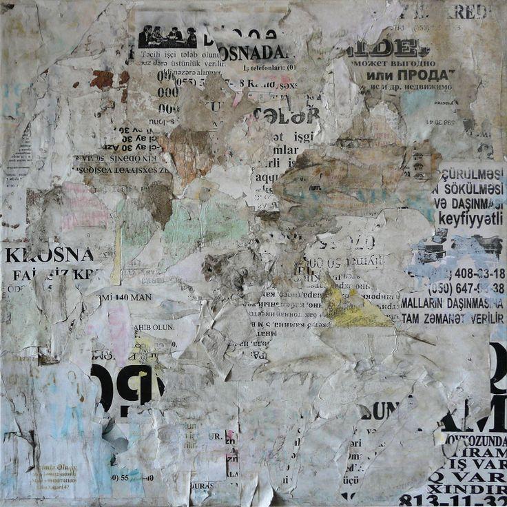 Bakou 19 - 60 x 60 cm sur toile